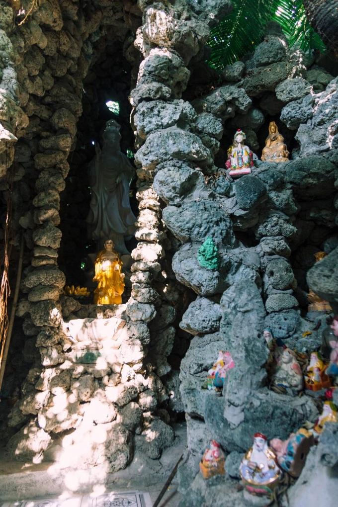 Chùa Từ Vân - ngôi chùa với hàng triệu con ốc